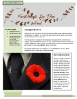 November 2009 Newsletter – Feathers In The Wind