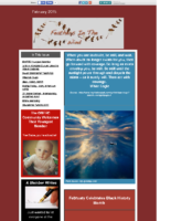 February 2015 Newsletter – Feathers In The Wind