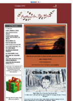 October 2016 Newsletter – Feathers In The Wind