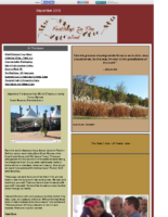 September 2015 Newsletter-Feathers In The Wind