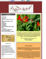 Summer 2016 Newsletter – Feathers In The Wind