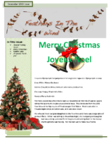 Holiday/December Newsletter 2009 – Feathers In The Wind