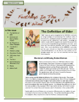 June 2010 Newsletter – Feathers In The Wind