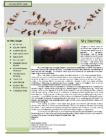 January 2011 Newsletter – Feathers In The Wind