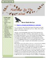 February 2011 Newsletter – Feathers In The Wind