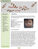 March 2011 Newsletter – Feathers In The Wind