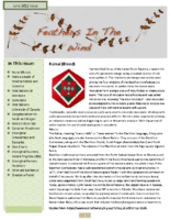 June 2012 Newsletter – Feathers In the Wind