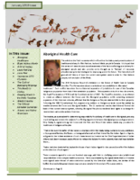 January 2010 Newsletter – Feathers In The Wind