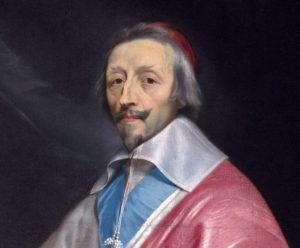 Portrait of Cardinal Richelieu (detail), 1633–40, Philippe de Champaigne, National Gallery, London