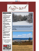 January 2017 Newsletter-Feathers In The Wind