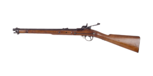 Antique gun of the type traded to natives.